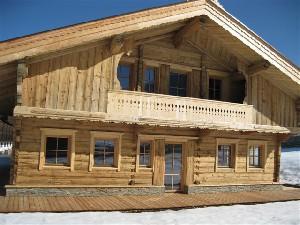 Haus im Almhüttencharakter